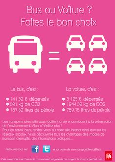 Bus ou voiture ? Faites le bon choix !
