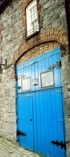 Blue Door No. 2 - Limerick, Limerick. Such a lovely photo.