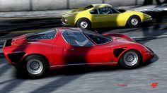 Alfa Romeo 33 Stradale de Monkuku dans la vitrine de Forza Motorsport 4 - I'd love to extract CAD definition to build from