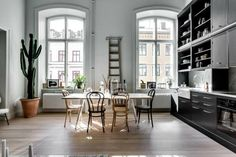 Industrial-chic SoHo loft with Hudson River views | Hudson river ...