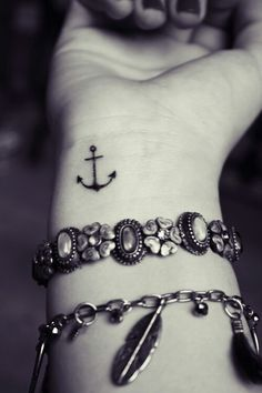 Hebrews 6 Bringing back the classic anchor tat. Also a reference to a symbol used by early Christians in hiding.