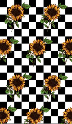 Obtain Checkerboard Sunflower Wallpaper Vintage Wallpaper Iphone, Sunflower Iphone Wallpaper, Iphone Wallpaper Yellow, Iphone Wallpaper Tumblr Aesthetic, Iphone Background Wallpaper, Aesthetic Pastel Wallpaper, Iphone Backgrounds, Retro Background, Glitch Wallpaper
