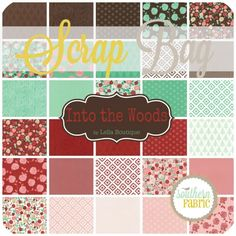 Into the Woods - Scrap Bag (5000SB) by Lella Boutique for Moda