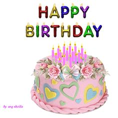 Birthday Wishes Gif, Happy Birthday Wishes For A Friend, Happy Birthday For Him, Birthday Pins, Happy Birthday Qoutes, Happy Birthday Gif Images, Happy Birthday Greetings, Hanuman Images, Morning Flowers