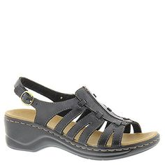 Clarks Lexi Marigold Womens Sandal 7 2AN US Black *** Details can be found by clicking on the image.(This is an Amazon affiliate link and I receive a commission for the sales)