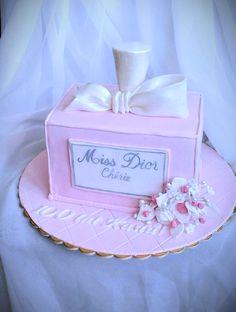 Birthday cake - Miss Dior