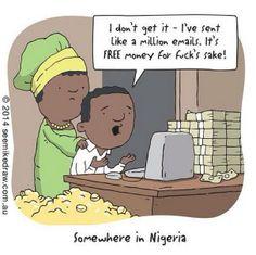 Ergens in Nigeria....