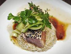 Amelia Kunhardt/The Patriot Ledger Sesame-crusted tuna, prepared by executive chef Tony DeRienzo at Abby Park in Milton, Wednesday, Jan. 16, 2013. Photo: Amelia Kunhardt/The Patriot Ledger, $8