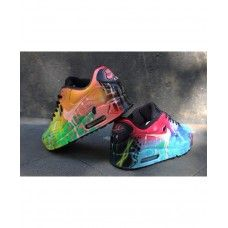 Nike Air Max 90 Custom Candy Drip Colorway Mens Trainers ...