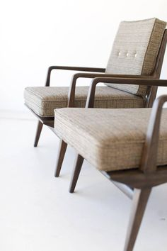 Carlo De Carli Lounge Chairs For M. Singer U0026 Sons