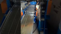 PANEL ROLL FORMING MACHIINE Roll Forming, Metal Forming, Machine Video, Metal Panels, Steel Metal, Rolls, Stairs, Home Decor, Stairway