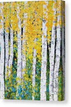 Birch Tree Art, Aspen Trees, Art Plastique, Acrylic Art, Painting Inspiration, Art Lessons, Stencil, Art Projects, Canvas Art