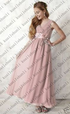 New-Princess-Junior-Flower-Girl-Dresses-Party-Prom-Bridesmaid-Dresses-2-16-Years