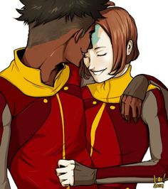 They made Kai too dark in my opinion. And Jinora's hair looks a little off. But all in all, I love it <3