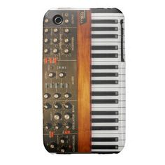 MiniMoog Phone Case Case-Mate iPhone 3 Case