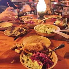 The only #salad I crave. #northwoodsinn #cheesebread #redcabbage #peanuts #family #foodporn #covina if you've never had the #chilidog it's one of the best around! by og_thegrouch