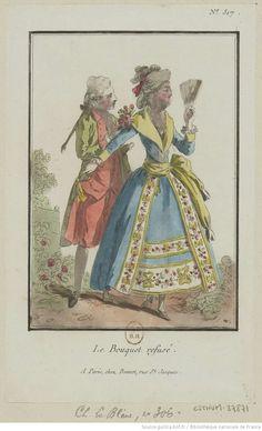 Titre:Le Bouquet refusé. : [estampe] / [Louis-Marin Bonnet] Auteur:Bonnet, Louis-Marin (1743-1793). Graveur