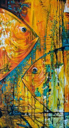 """Saatchi Art Artist Felix Murillo; Painting, """"Penetrando la luz del dia"""" #art"""