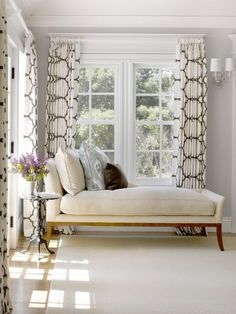 Layered curtains for the living room I even like the color Itd
