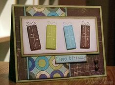 Happy Birthday, Kenny by darleenstamps - Cards and Paper Crafts at Splitcoaststampers