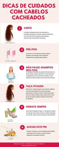 Curso Cuidados para Cabelos Cacheados da Gil Viana: aprenda dicas sobre o crescimento capilar, cuidados semanais, receitas de hidratação para cabelos cacheados, como aumentar ou reduzir o volume. Acesse para conhecer! #DicasDeCabelo #Cachos #CabeloCrespo #IntimasDaRay Coiled Hair, Kinky Hair