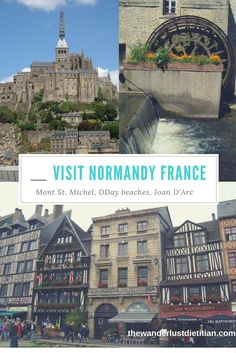 Your Guide to exploring the historical Normandy region of France.
