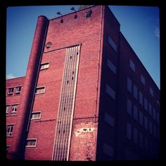 The old DSS, Manchester: http://urbantimes.co/2012/09/is-modernist-employment-exchange-the-most-intriguing-building-in-manchester/