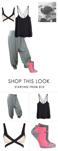 """""""bed"""" by winter-blues-summer-news ❤ liked on Polyvore featuring H&M, Agent Provocateur and Puma"""