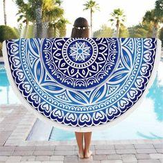 Tibetan Mandala Yoga Blanket