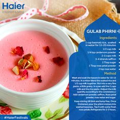 Let the spirit of Eid fill your life with contentment and happiness. Enjoy this festive recipe with family and friends. Eid Mubarak everyone. #EidRecipe