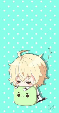 Owari no Seraph - Mikaela just being the cUTEST tHIng EvER