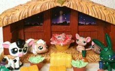 22 Piece Nativity Set Lot OOAK Handpainted Custom Littlest Pet Shop | eBay