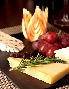 Enjoy some local French cheeses as part of a delicious evening meal in your catered Skibug chalet www.skibug.co.uk