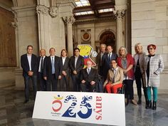#ICYMI: Sir Philip and members of the International Paralympic Committee Governing Board were in Barcelona to celebrate the 25th anniversary of the 1992 Paralympic Games. The day included the unveiling of an adapted version of the Games emblen to commemorate the landmark. #Paralympics #ElectronicsStore