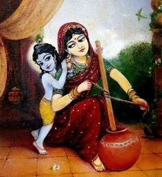 Once mother Yashoda decided to prepare butter for her little Krishna. Shree Krishna Wallpapers, Radha Krishna Wallpaper, Radha Krishna Pictures, Lord Krishna Images, Hare Krishna, Krishna Lila, Little Krishna, Yashoda Krishna, Krishna Radha