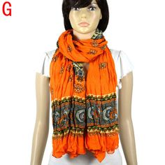 flouncing desigual scarf new women tippet winter chunky scarf NL-1984G