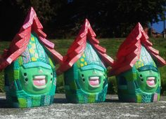 "SpankyStokes.com | Vinyl Toys, Art, Culture, & Everything Inbetween: Handmade ""The Shacks"" created by 'They Drift'... a..."
