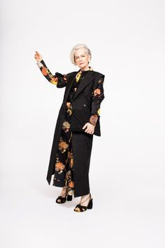 """LYN SLATER (Older Female Fashion Icon/Model):  Accomplished professor and social worker Lyn Slater gained a cult following in recent years by connecting with """"women who lead interesting but ordinary lives"""" via her aptly titled blog, Accidental Icon.http://www.accidentalicon.com/"""