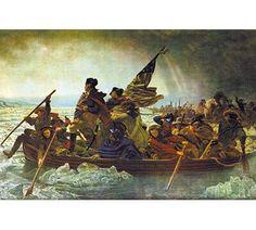 Buyenlarge 'Washington Crossing the Delaware' by Emanuel Leutze Painting Print