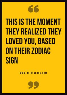 This Is The Moment They Realized They Loved You, Based On Their Zodiac Sign – Ali Catalogs #zodiacsigns #astrology #horoscopes #zodiaco #love #dailyhoroscope #entertainment #sad #love #Aries #Cancer #Libra #Taurus #Leo #Scorpio #Aquarius #Gemini #Virgo #Sagittarius #Pisces #zodiac_sign #zodiac #facts #zodiac_sign_facts