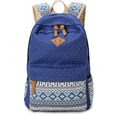 Women Girl Canvas Shoulder School Bag Outdoor Backpack Travel Rucksack  Handbag in Clothing, Shoes   Accessories, Women s Handbags   Bags, ... 9b3cdc73e8