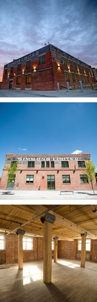 The Avenue team loves this space in the East Village for a wedding. #eastvillage #calgary