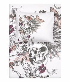 Duvet Cover from H&M. . who knew that they had home decor?! i love this though-i need it. .and the matching pillow case.