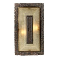 "Rugged Elements Collection 15"" High Outdoor Wall Light - #85911 