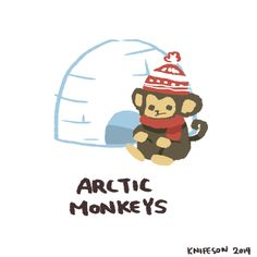 Monkey from the arctic by Knifeson