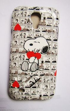 Cute Snoopy Hard Shell Back Case Cover For Samsung Galaxy S4 mini i9190 | eBay