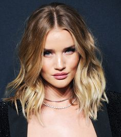7 Genius Beauty Tips We Learned From Rosie Huntington-Whiteley via @ByrdieBeauty