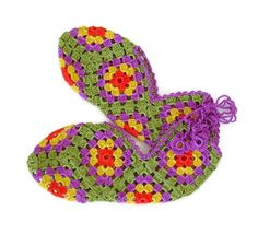 Yellow+Orange+Red+Green+Ivory+Lillac++Crochet+by+VejoHobbyHome,+$25.00