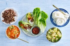 Knapperige slawraps met Koreaanse kruiden - Recept - Allerhande