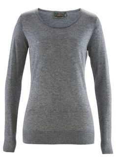 Sweter z luksusowej dzianiny z jedwabiu i kaszmiru, do wyboru gładki lub w paski, w atrakcyjnych kolorach i wyjątkowej cenie! Musisz go mieć! Dł. od ok. 64 cm (rozm. 36/38) do ok. 78 cm (rozm. 56/58). Prać ręcznie. 65% jedwab, 35% kaszmir